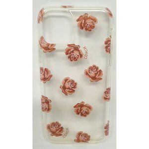 Coach Case for Apple iPhone 11 Pro - Pink Roses